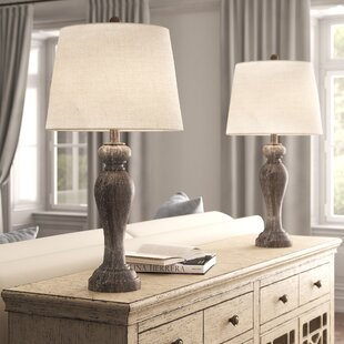 Joie+32_+Opal+Gray+Table+Lamp+Set+(Set+of+2)