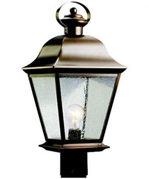 Kichler 9909OZ Mount Vernon Outdoor Post Mount 1 Light Olde Bronze 0 300x360