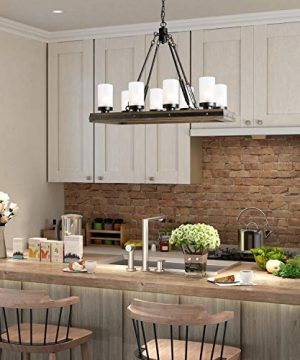 LNC A03487 Wood Chandelier Kitchen Island Lighting For Dining Rooms Restraunt Cafe Bar Counter Model 0 0 300x360
