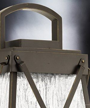 Luxury English Tudor Outdoor PostPier Light Large Size 2175H X 105W With Rustic Style Elements Olde Bronze Finish UHP1056 From The Saint Paul Collection By Urban Ambiance 0 2 300x360