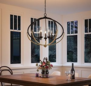 Luxury Mediterranean Chandelier Large Size 27875H X 3375W With Contemporary Style Elements Olde Bronze Finish And Clear Shade UHP2351 From The Baton Rouge Collection By Urban Ambiance 0 0 300x282