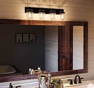 Luxury Modern Farmhouse Bathroom Vanity Light Large Size 8625H X 3025W With Industrial Style Elements Olde Bronze Finish UHP2145 From The Bridgeport Collection By Urban Ambiance 0 0 300x282