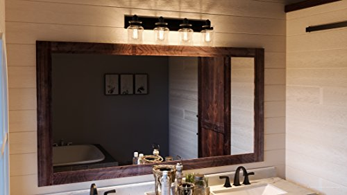 Luxury Modern Farmhouse Bathroom Vanity Light Large Size 8625H X 3025W With Industrial Style Elements Olde Bronze Finish UHP2145 From The Bridgeport Collection By Urban Ambiance 0 0
