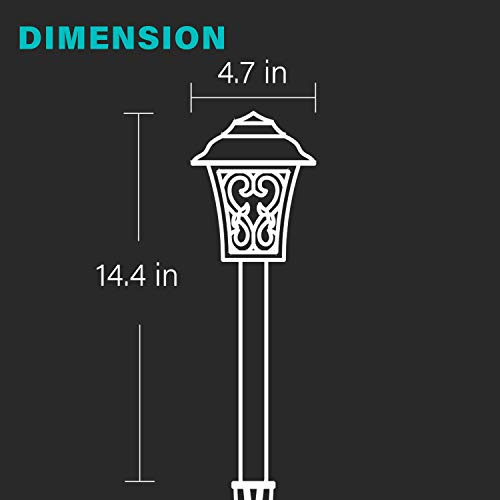 Malibu Outdoor Landscape Lighting Low Voltage LED Pathway Light 1W Oil Rubbed Bronze Garden Lights For Lawn Yard Patio 8405 9112 01 0 0