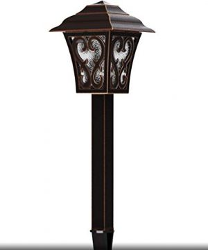 Malibu Outdoor Landscape Lighting Low Voltage LED Pathway Light 1W Oil Rubbed Bronze Garden Lights For Lawn Yard Patio 8405 9112 01 0 300x360