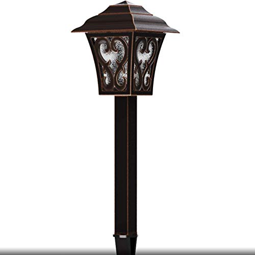 Malibu Outdoor Landscape Lighting Low Voltage LED Pathway Light 1W Oil Rubbed Bronze Garden Lights For Lawn Yard Patio 8405 9112 01 0