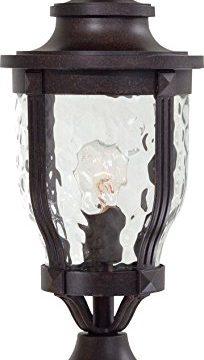 Minka Lavery Outdoor Post Lights 8766 166 Merrimack Cast Aluminum Exterior Lighting Fixture 100 Watts Bronze 0 204x360