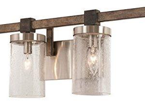 Minka Lavery Wall Light Fixtures 4634 106 Bridlewood Bath Vanity Lighting 4 Light 240 Watts Stone Grey 0 300x209