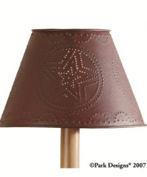 Park Designs Metal Star Shade 10 Red 0 0 300x360
