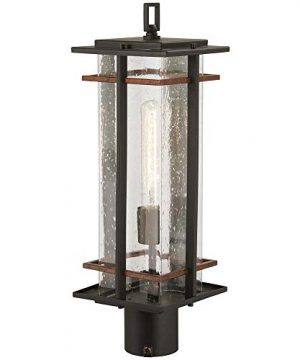 San Marcos 20 12 High Black And Copper Outdoor Post Light 0 300x360