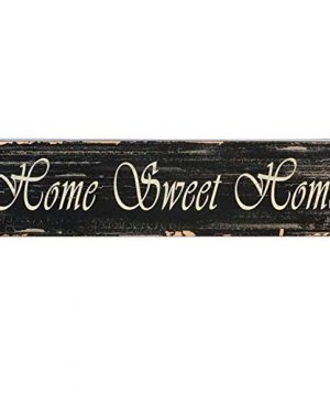 Barnyard Designs Home Sweet Home Wooden Box Wall Art Sign Primitive Country Farmhouse Home Decor Sign With Sayings 22 X 55 0 300x360