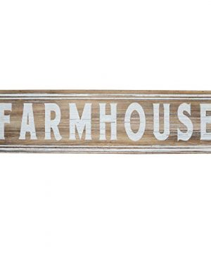 Barnyard Designs Large Wooden Farmhouse Sign Rustic Hanging Wall Decor Vintage Primitive Country Wall Decoration 30 X 8 0 300x360