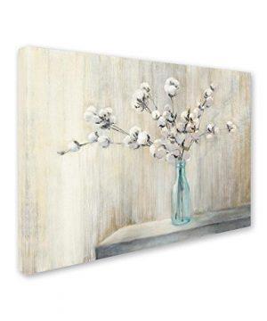 Cotton Bouquet By Julia Purinton 18x24 Inch Canvas Wall Art 0 300x360
