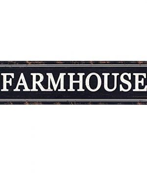 Funly Mee Rustic Black Metal Farmhouse Sign Decorative Wall Hanging Sign 16142 In 0 300x360