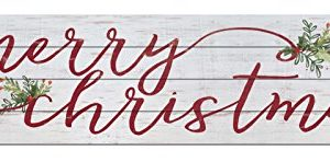 Kindred Hearts 40x10 Merry Christmas Shiplap Wall Sign 0 300x148