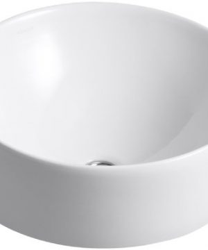 Kohler 14800 0 Vox Round Bathroom Sink White 0 300x360