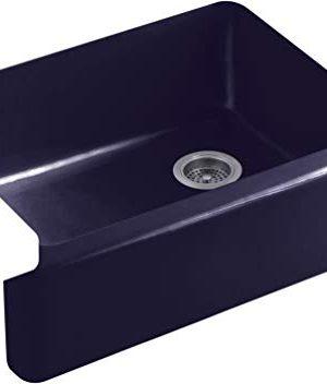 Kohler K 6487 DGB Whitehaven Kitchen Sink IndigoBlue 0 300x352