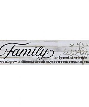 LifeSong Milestones Family Like Branches On A Tree Decorative Wall Sign For Living Room Entryway Kitchen BedroomOffice Wedding Ideas Distressed White Plank 0 300x360