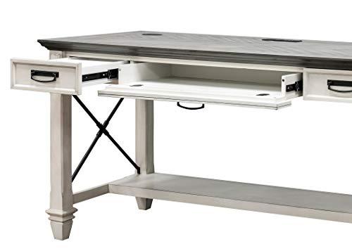 Martin Furniture Writing Table White 0 4
