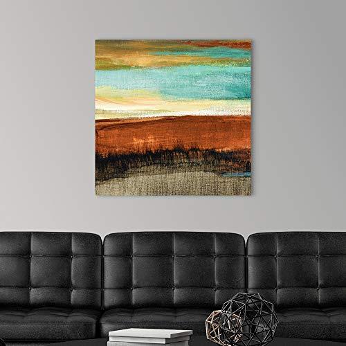 Rustic Sea Square I Canvas Wall Art Print Artwork 0 1
