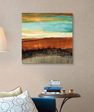 Rustic Sea Square I Canvas Wall Art Print Artwork 0 2 300x360