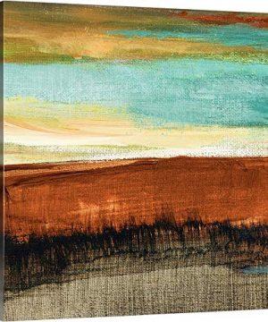 Rustic Sea Square I Canvas Wall Art Print Artwork 0 300x360