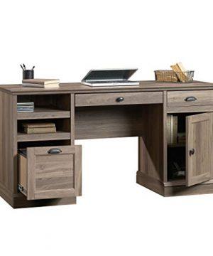 Sauder Barrister Lane Executive Desk Salt Oak Finish 0 3 300x360