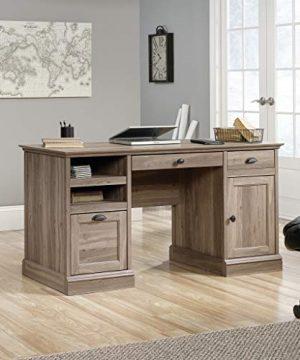 Sauder Barrister Lane Executive Desk Salt Oak Finish 0 4 300x360