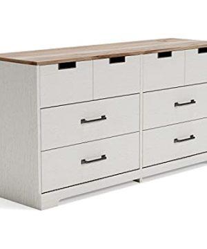 Signature Design By Ashley Vaibryn Casual Dresser Two Tone 0 300x360