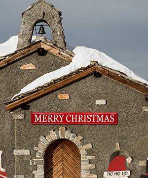 Glitzhome 4575 L Handmade Enameled Metal Wall Sign Merry Christmas Farmhouse Style Home Decor 0 300x360