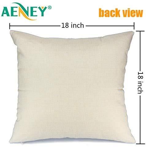 AENEY Fall Pillow Covers 18x18 Set Of 4 For Fall Decor Buffalo Plaid Pumpkin Maple Leaf Fall Pillows Decorative Throw Pillows Farmhouse Thanksgiving Autumn Cushion Case For Couch A406 18 0 1