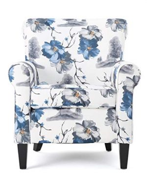 Christopher Knight Home Roseville Fabric Club Chair Floral Print 0 300x360