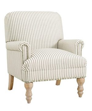 Dorel Living Jaya Accent Chair Beige 0 300x360