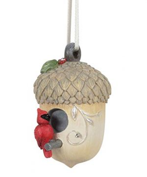 Enesco Heart Of Christmas Woodland Cardinal Hanging Ornament 264 Inch Multicolor 0 300x360