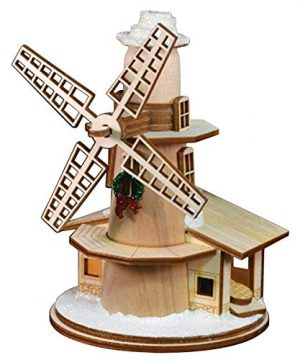 Ginger Cottages Windmill Ornaments For Christmas Tree 0 300x360