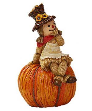 Harvest Scarecrows Table Decor Figurines Pumpkins Halloween Easter Scarecrow01 0 300x360