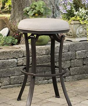 Hillsdale Furniture Bryce Swivel Counter Stool Black 0 300x360