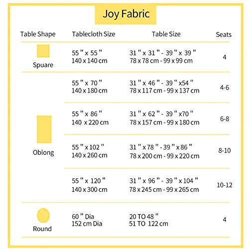 Joy Fabric Cotton Linen Tablecloths Wrinkle Free Anti Fading Table Cloth Tassel Square Indoor Outdoor Dining Table Cover Grey Checkered 55 X 55 Inch 0 4