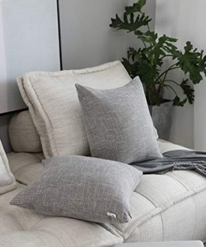 Kevin Textile Decorative Throw Pillow Covers Star Modern Farmhouse Pillowcases Indoor Outdoor Set Of 2 20 X 20 Inches 50x50cm Grey 0 3 300x360