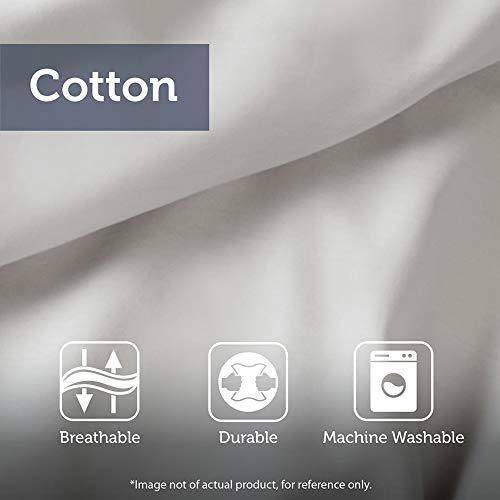 Madison Park Laetitia 100 Cotton Duvet Set Chenille Tufted Medallion Design All Season Cozy Bedding Shabby Chic Comforter Cover Matching Shams KingCal King104x92 Floral Grey 0 4