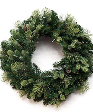 National Tree Company Carolina Pine Wreath 30 In 0 300x360