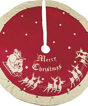 Primitives By Kathy Red Vintage Tree Skirt 0 300x360