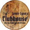 Rustic Home Bar Signs Real Wood Whiskey Barrel Personalized Kitchen Decor Clubhouse Warm Food Good Drinks Cafe Wine Large Wall Decor 22 Inch Diameter 0 100x100