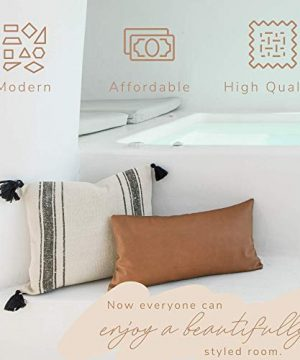 Woven Nook Decorative Tassel Throw Pillow Covers Luca Set Pack Of 2 18 X 18 0 3 300x360