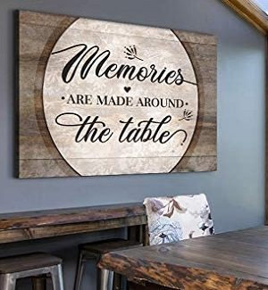 Farmhouse Dining Room Wall Signs