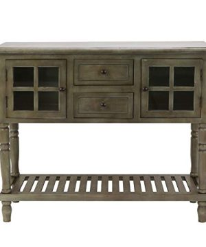 Decor Therapy Console Table Size 42w 14d 3425 Gray 0 300x360