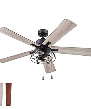 Prominence Home 51457 01 Marshall Ceiling Fan 52 Matte Black 0 300x360