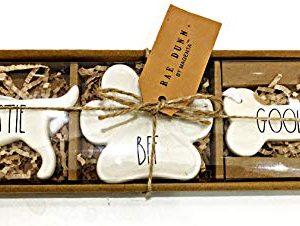 Rae Dunn BESTIE BFF GOOD DOG Christmas Tree Ornaments 0 300x226