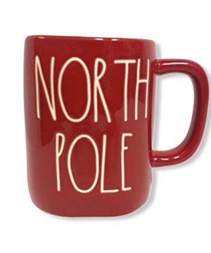 Rae Dunn By Magenta NORTH POLE Red Ceramic LL Coffee Tea Mug 0 300x360