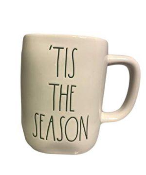 Rae Magenta Dunn Christmas Holiday Mug Tis The Season White Cup 0 300x360